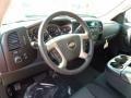 2011 Mocha Steel Metallic Chevrolet Silverado 1500 LT Extended Cab 4x4  photo #13