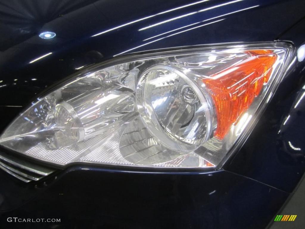 2008 CR-V EX 4WD - Royal Blue Pearl / Gray photo #4