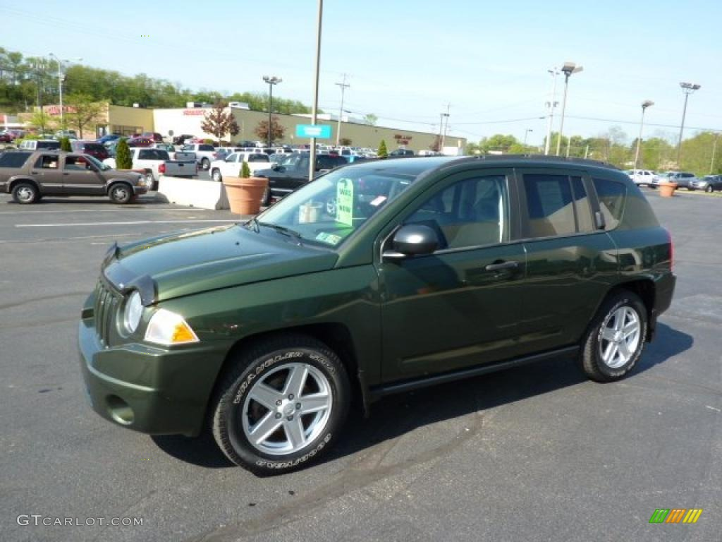 jeep green metallic 2007 jeep compass sport exterior photo 49222913. Black Bedroom Furniture Sets. Home Design Ideas
