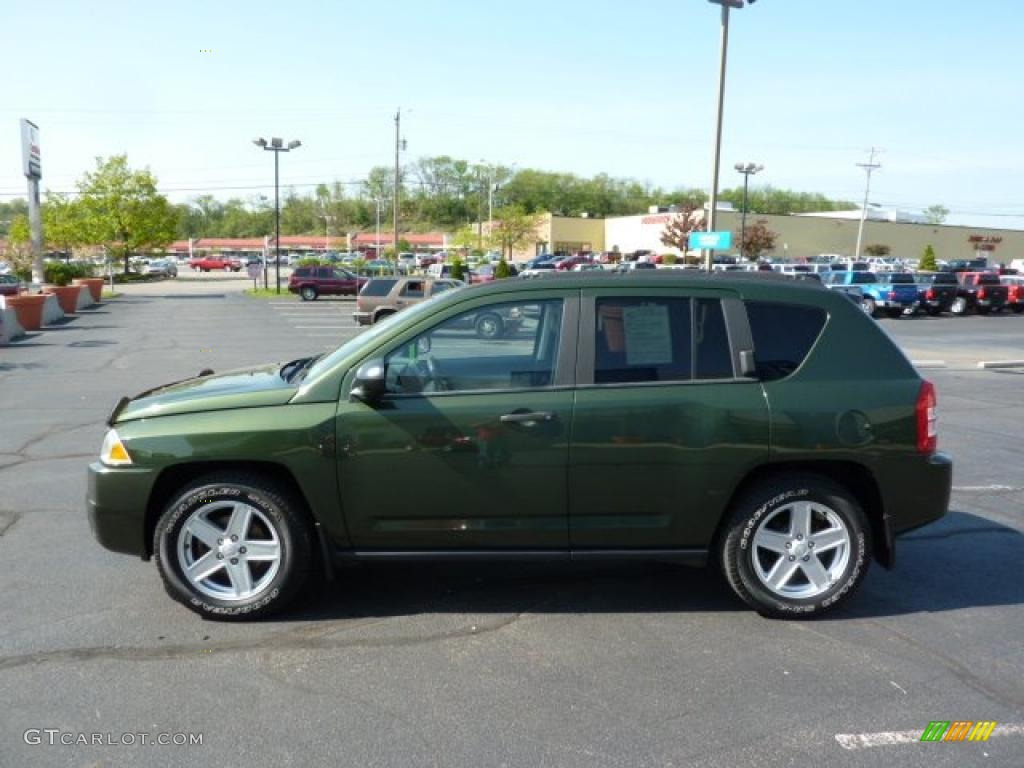 jeep green metallic 2007 jeep compass sport exterior photo 49222928. Black Bedroom Furniture Sets. Home Design Ideas