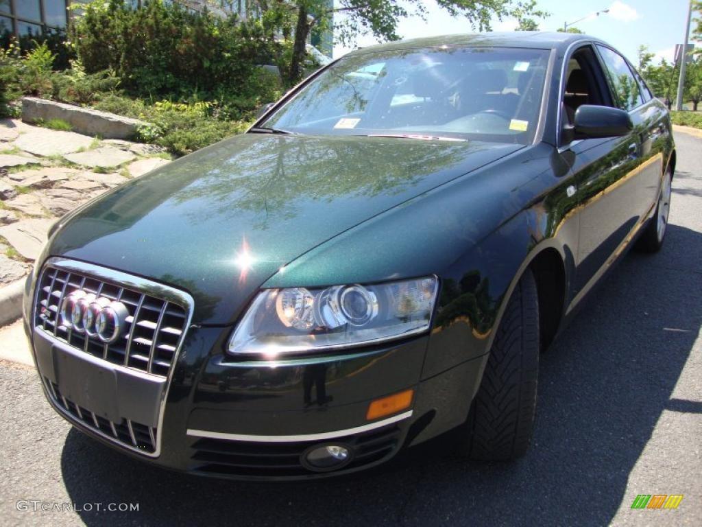 2005 cambridge green pearl effect audi a6 3.2 quattro sedan