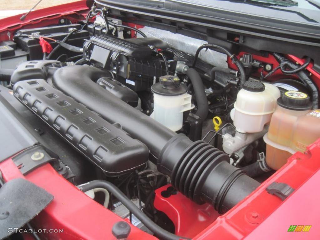 2007 ford f150 lariat supercrew 4x4 5 4 liter sohc 24 for Motor ford f150 v8