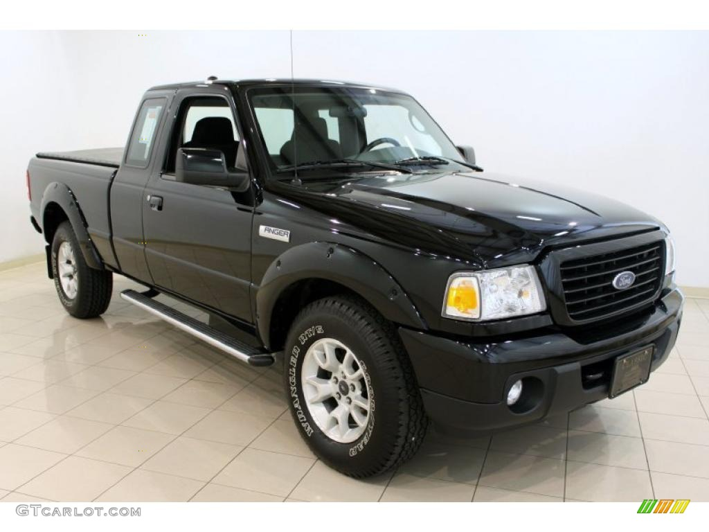 black 2009 ford ranger sport supercab 4x4 exterior photo 49232162. Black Bedroom Furniture Sets. Home Design Ideas