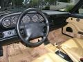 Cashmere Beige/Black Interior Photo for 1995 Porsche 911 #49235267