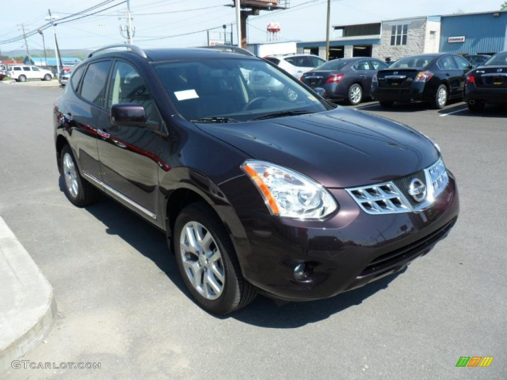 Black amethyst 2011 nissan rogue sl awd exterior photo - 2012 nissan rogue exterior colors ...
