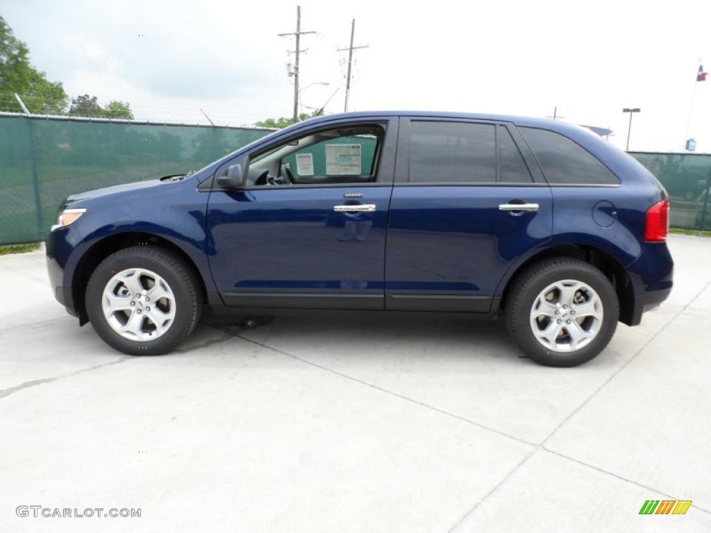 Kona blue metallic 2011 ford edge sel exterior photo 49250960
