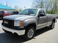 Steel Gray Metallic - Sierra 1500 Regular Cab 4x4 Photo No. 1
