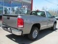 Steel Gray Metallic - Sierra 1500 Regular Cab 4x4 Photo No. 2