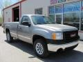 Steel Gray Metallic - Sierra 1500 Regular Cab 4x4 Photo No. 15