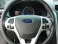 Charcoal Black Steering Wheel Photo for 2011 Ford Explorer #49253927