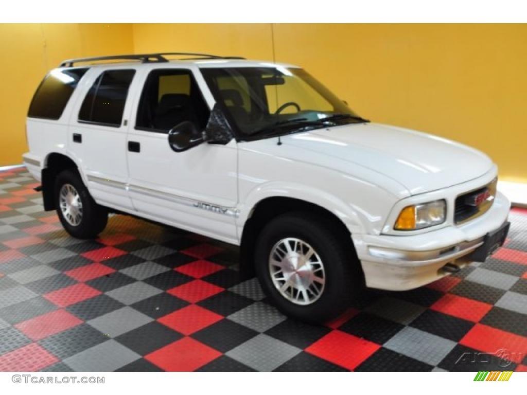 1995 Frost White Gmc Jimmy Sl 4x4 49245024 Car