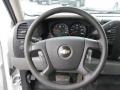 Dark Titanium Steering Wheel Photo for 2008 Chevrolet Silverado 1500 #49265345