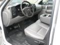 Dark Titanium Interior Photo for 2008 Chevrolet Silverado 1500 #49265486