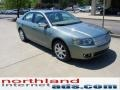 2008 Moss Green Metallic Lincoln MKZ AWD Sedan  photo #2