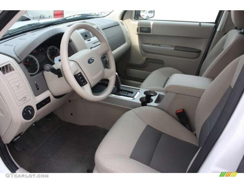 Stone Interior 2008 Ford Escape Hybrid 4wd Photo 49275644 Gtcarlot Com