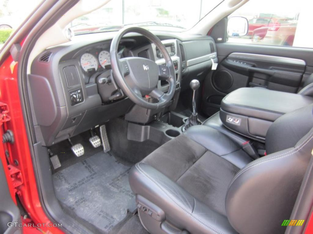 dark slate gray interior 2004 dodge ram 1500 srt 10. Black Bedroom Furniture Sets. Home Design Ideas