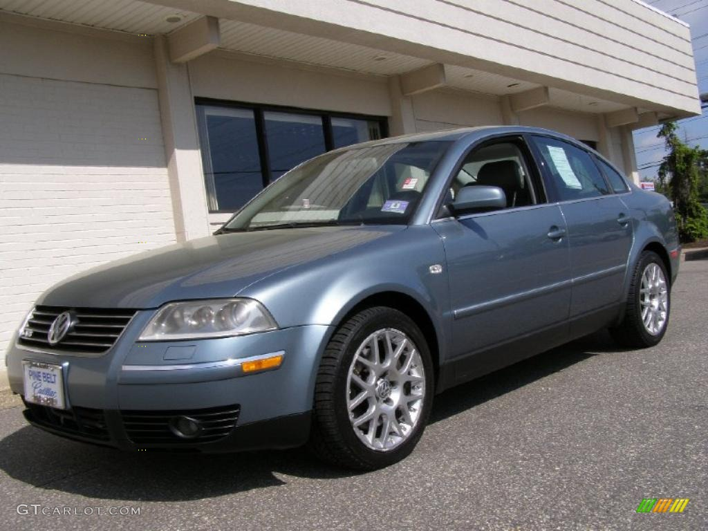 2003 pacific blue pearl volkswagen passat w8 4motion sedan 49245263 car color. Black Bedroom Furniture Sets. Home Design Ideas