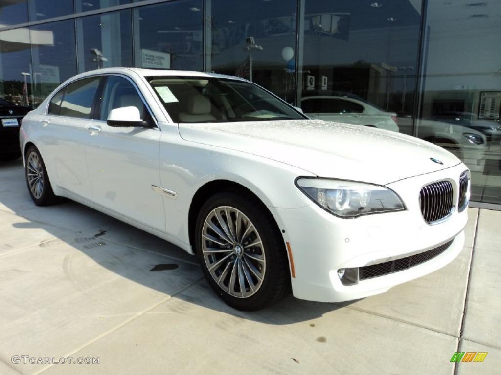 Alpine White 2012 BMW 7 Series 740Li Sedan Exterior Photo 49288184
