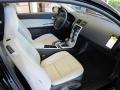 2011 C30 T5 Off Black/Blonde T-Tec Interior