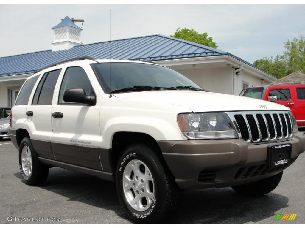 2003 stone white jeep grand cherokee laredo 4x4 49245107 car color galleries. Black Bedroom Furniture Sets. Home Design Ideas