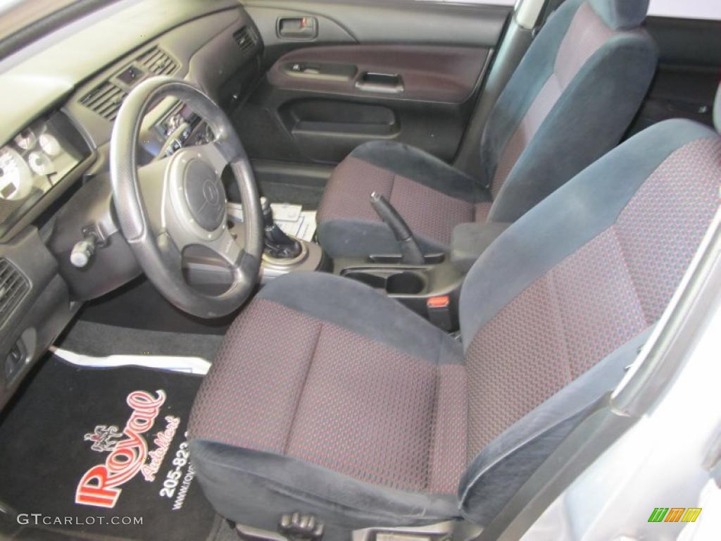Gray Interior 2005 Mitsubishi Lancer RALLIART Photo 49290029