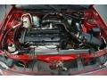 2.0 Liter DOHC 16-Valve Zetec 4 Cylinder 2000 Ford Escort ZX2 Coupe Engine