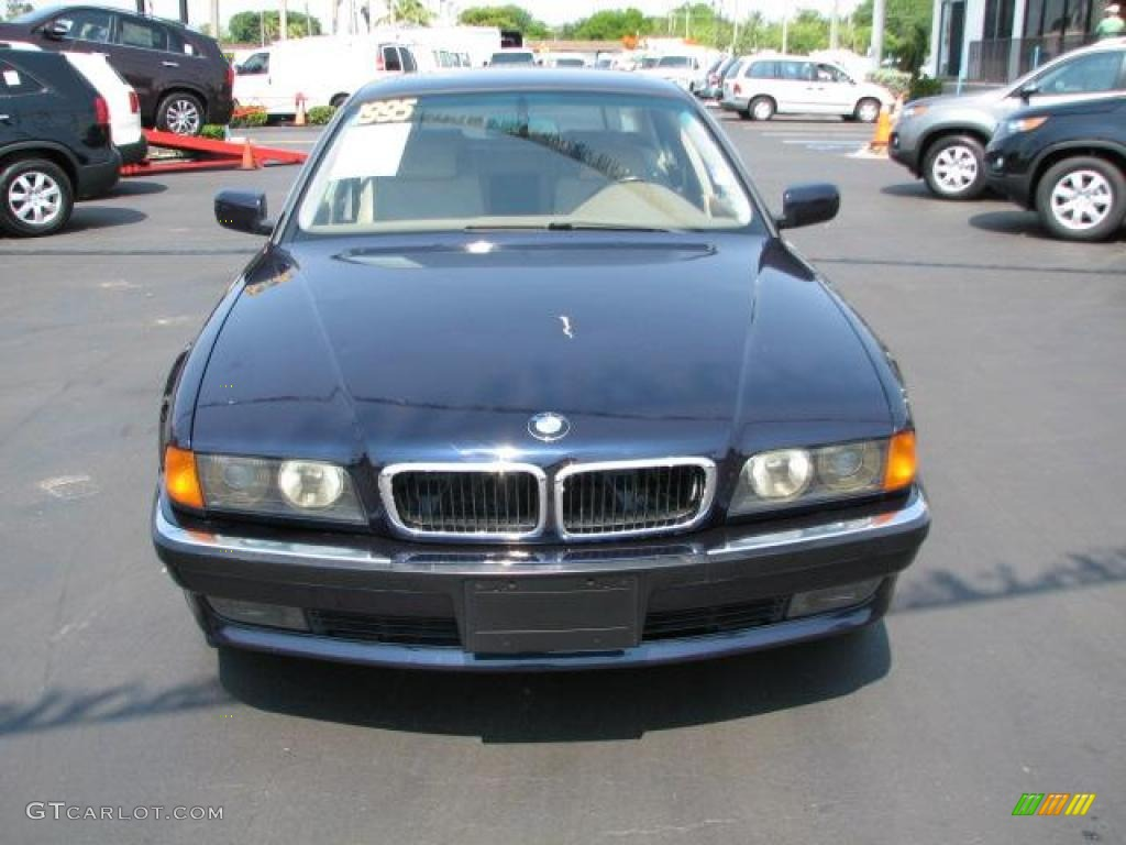 1995 orient blue metallic bmw 7 series 740il sedan 49245279 photo 3 car color. Black Bedroom Furniture Sets. Home Design Ideas
