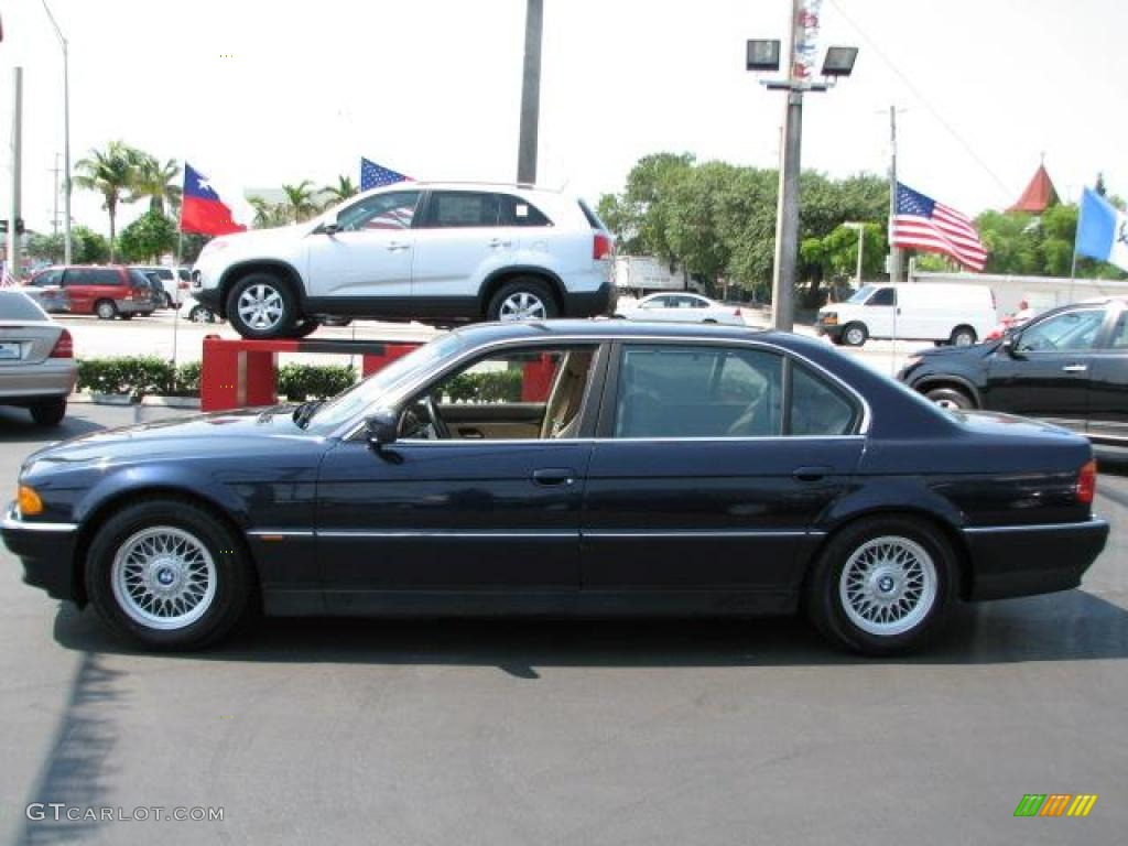1995 orient blue metallic bmw 7 series 740il sedan 49245279 photo 6 car color. Black Bedroom Furniture Sets. Home Design Ideas