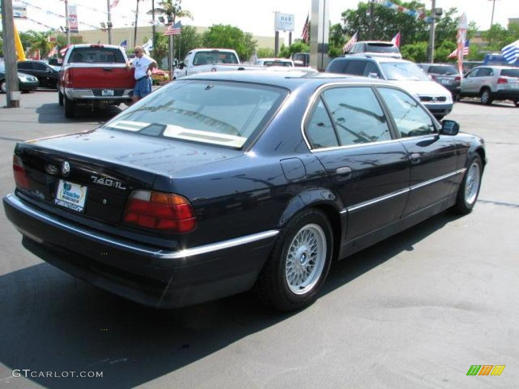 1995 orient blue metallic bmw 7 series 740il sedan 49245279 photo 11 car. Black Bedroom Furniture Sets. Home Design Ideas