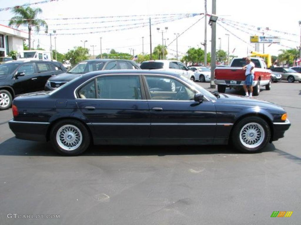 1995 orient blue metallic bmw 7 series 740il sedan 49245279 photo 12 car. Black Bedroom Furniture Sets. Home Design Ideas
