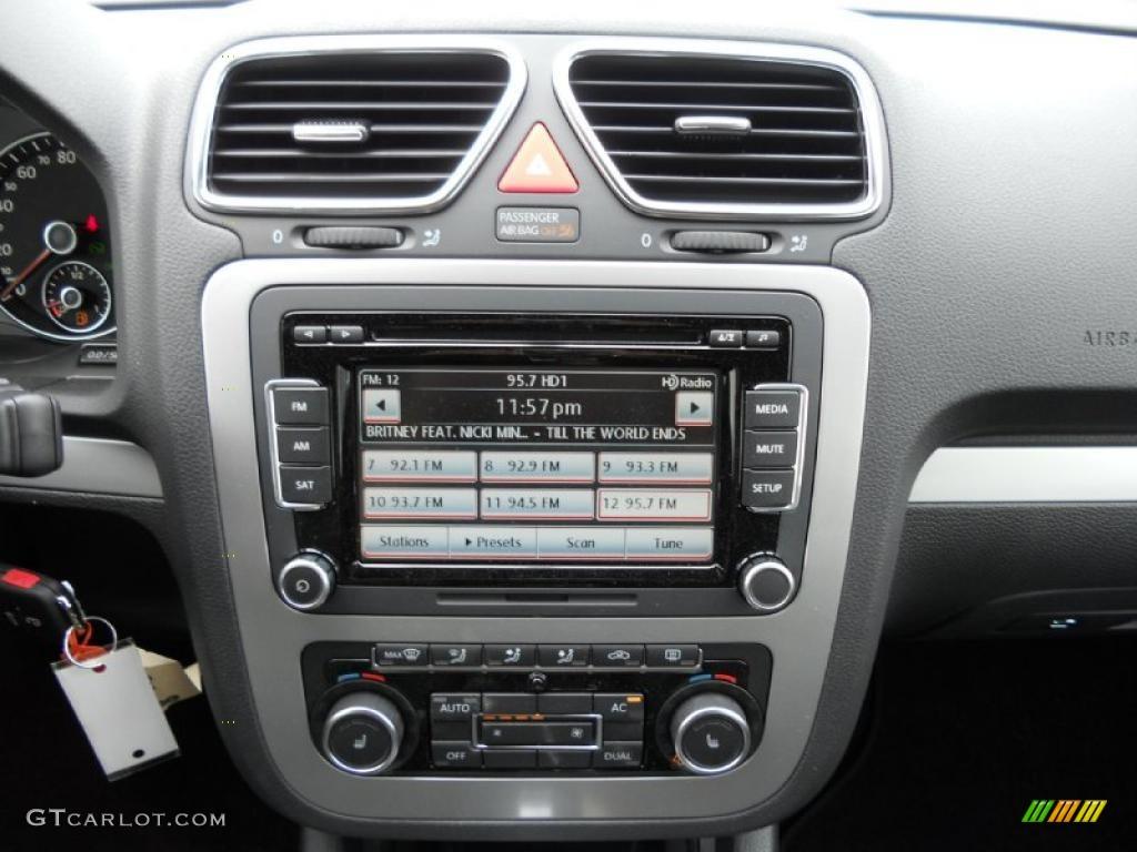 2012 Volkswagen Eos Komfort Controls Photo #49292135 ...