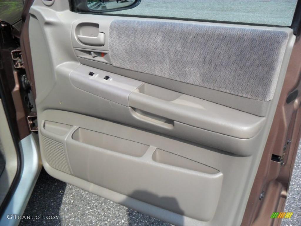 2001 Dodge Dakota Slt Quad Cab Taupe Door Panel Photo 49305642