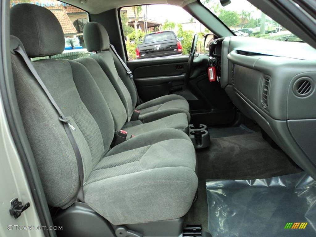 2004 Chevrolet Silverado 1500 Ls Regular Cab Interior