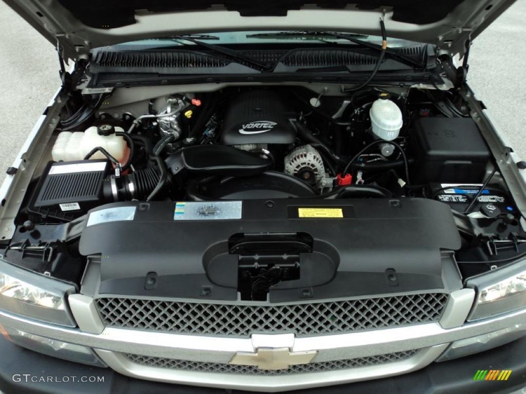 2004 Chevrolet Silverado 1500 Ls Regular Cab 4 8 Liter Ohv