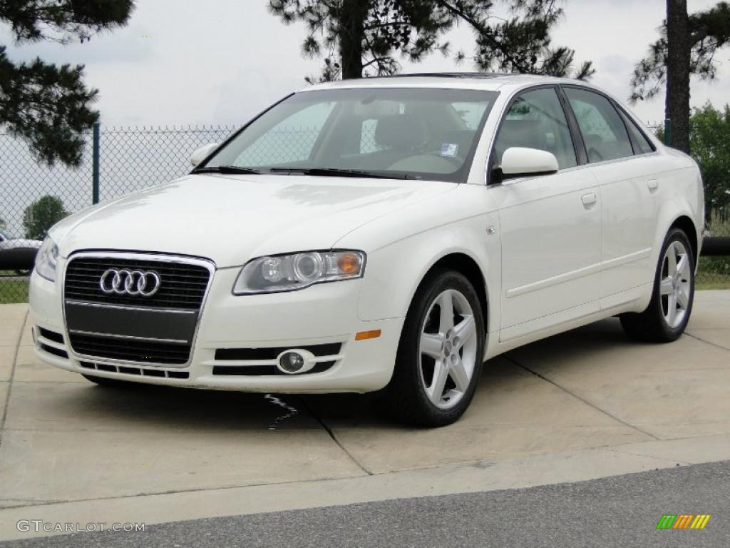 arctic white 2005 audi a4 2 0t sedan exterior photo. Black Bedroom Furniture Sets. Home Design Ideas