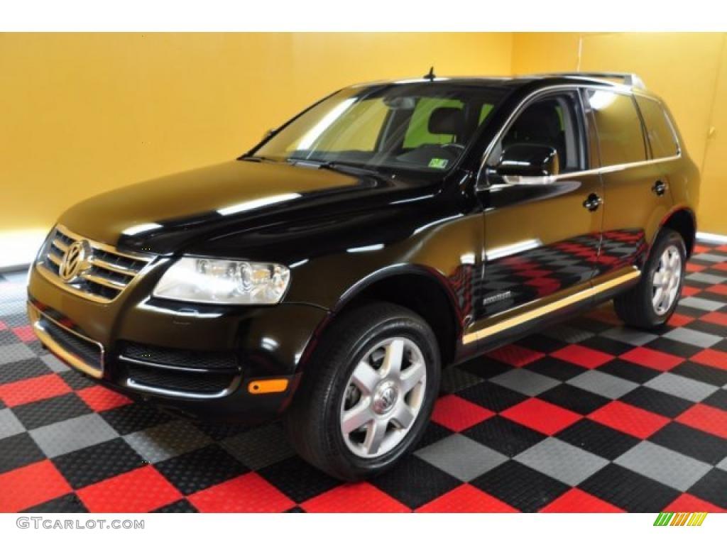 Black 2004 Volkswagen Touareg V10 TDI Exterior Photo 49316136