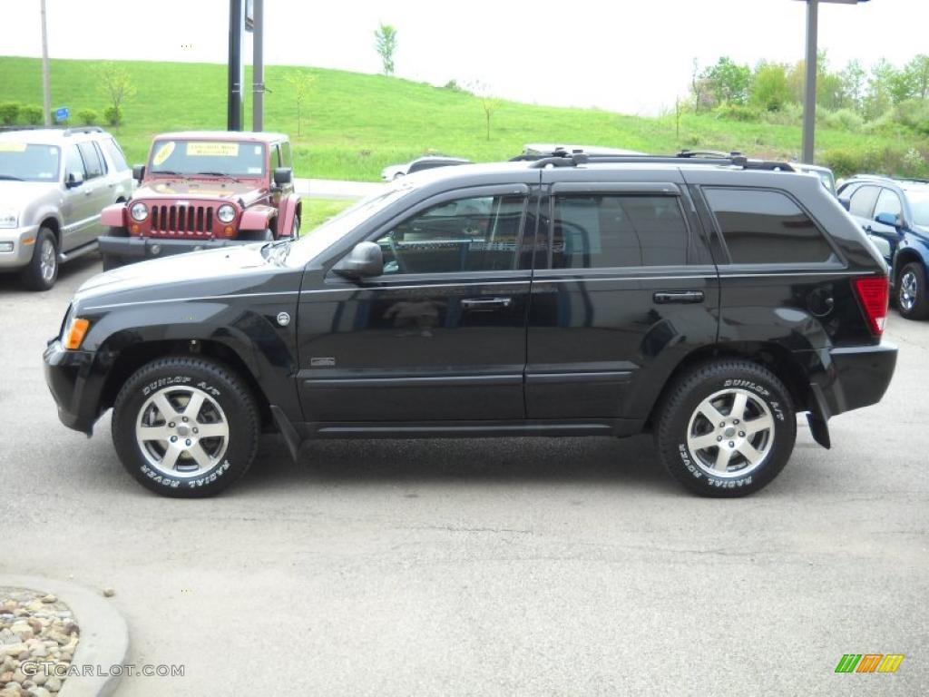 black 2008 jeep grand cherokee laredo 4x4 exterior photo 49322244. Black Bedroom Furniture Sets. Home Design Ideas