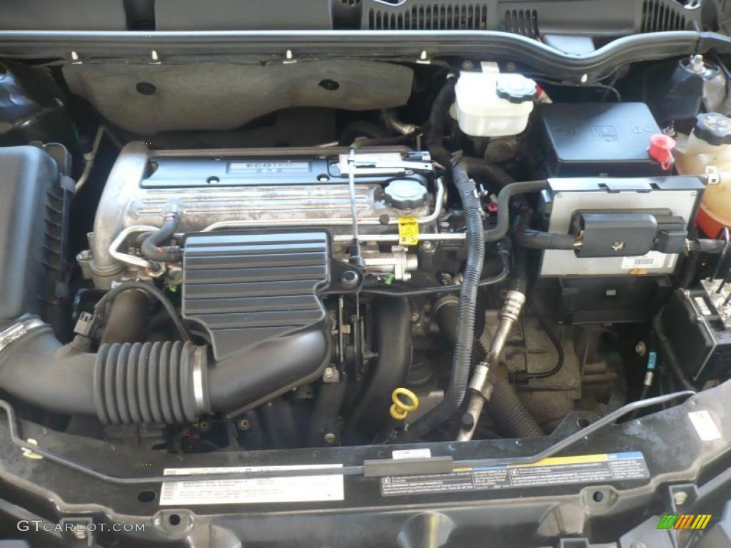 2004 Saturn ION 2 Sedan 2.2 Liter DOHC 16 Valve 4 Cylinder ...