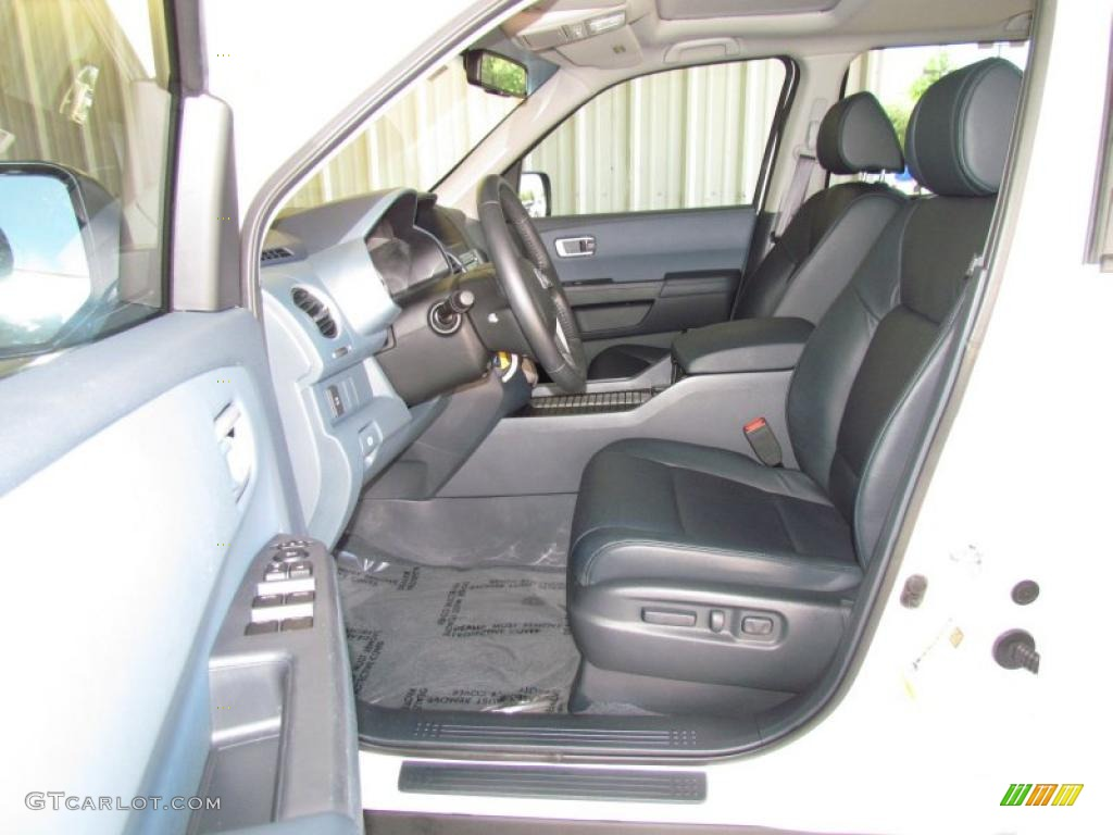 Blue Interior 2009 Honda Pilot Ex L Photo 49323648