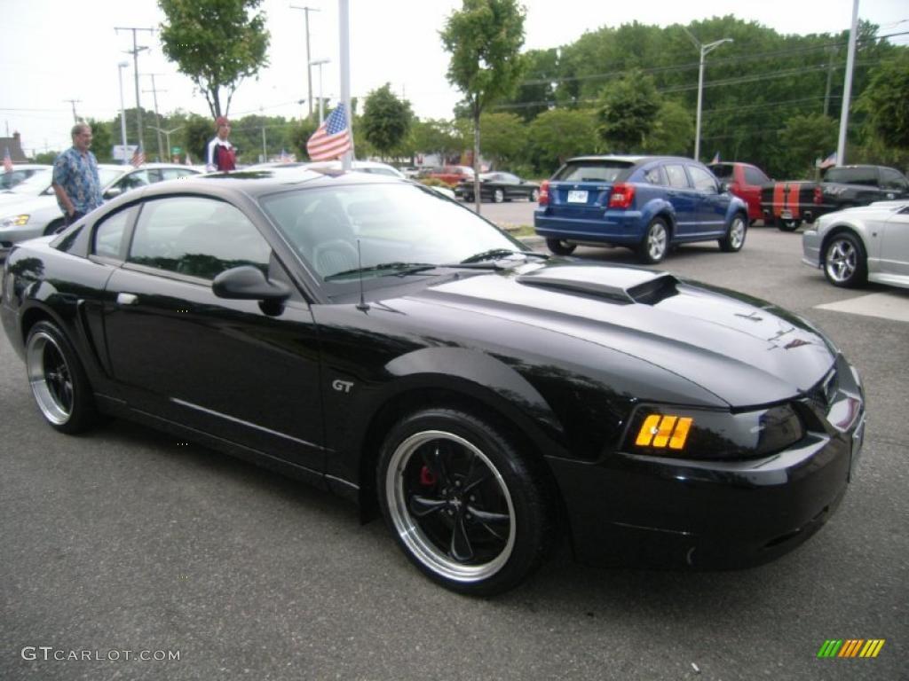 Black 2001 Ford Mustang Bullitt Coupe Exterior Photo