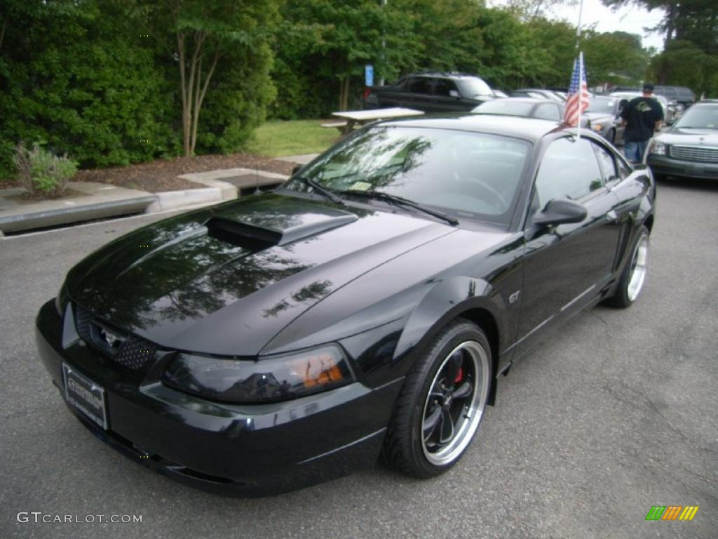 black 2001 ford mustang bullitt coupe exterior photo. Black Bedroom Furniture Sets. Home Design Ideas