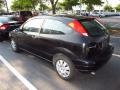 2005 Pitch Black Ford Focus ZX3 S Coupe  photo #3