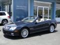 Majestic Black Metallic - SL 550 Roadster Photo No. 7