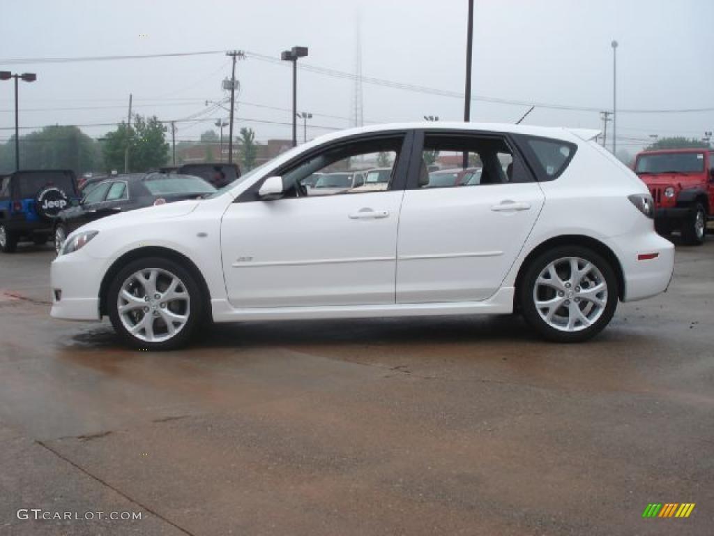 Mazda 3 2014 Hatchback White >> Crystal White Pearl Mica 2009 Mazda MAZDA3 s Touring Hatchback Exterior Photo #49340166 ...
