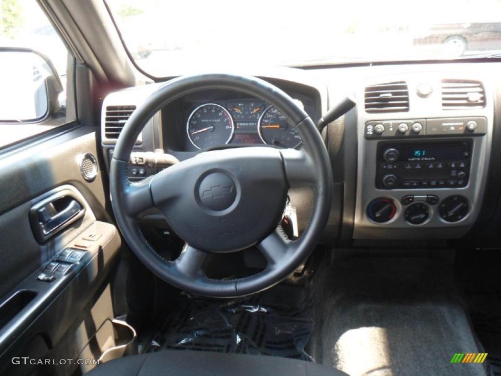 2010 Chevrolet Colorado LT Crew Cab 4x4 Ebony Dashboard ...