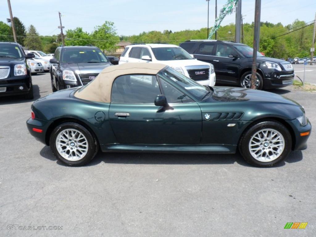 2002 Oxford Green Metallic Bmw Z3 2 5i Roadster 49300558 Photo 8 Gtcarlot Com Car Color Galleries