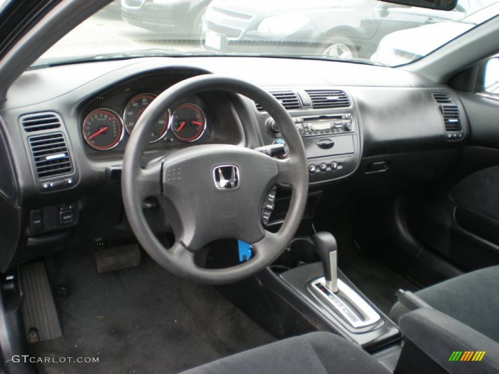 black interior 2003 honda civic lx coupe photo 49347801 gtcarlot com gtcarlot com