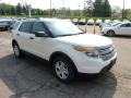 2011 White Suede Ford Explorer FWD  photo #6
