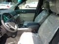 2011 White Suede Ford Explorer FWD  photo #10