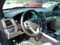 2011 White Suede Ford Explorer FWD  photo #11